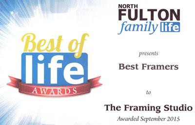 best-of-life-framing-award
