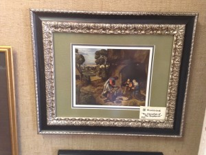 17x20.5 Adoration of the Shepherds - $325