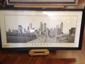 4x20 Atlanta in B&W - $275