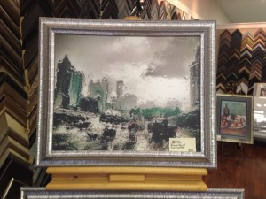 24x20 Downtown Connector in a Storm - $320