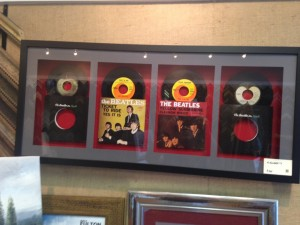 40x18 The Beatles - 4 #1's - $400